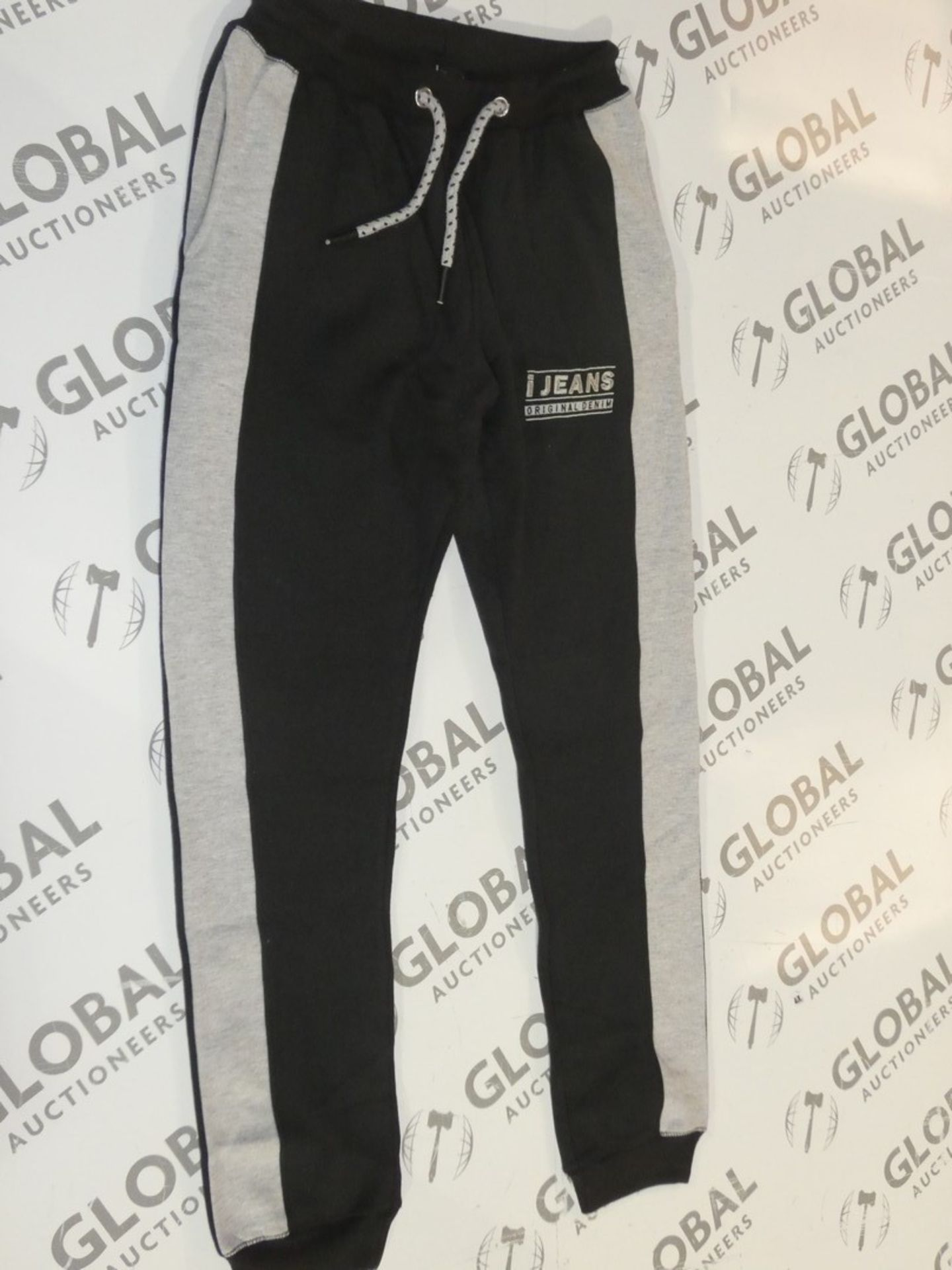 Lot 170 - Assorted Brand New Pairs Of Ijeans Original Denim Black Lounging Pants In Assorted Sizes RRP £25 A