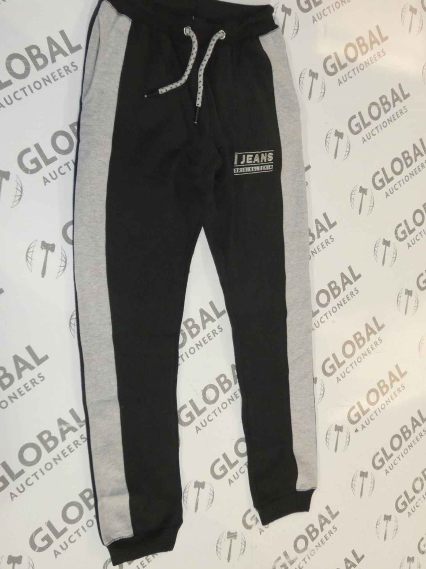 Lot 168 - Assorted Brand New Pairs Of Ijeans Original Denim Black Lounging Pants In Assorted Sizes RRP £25 A