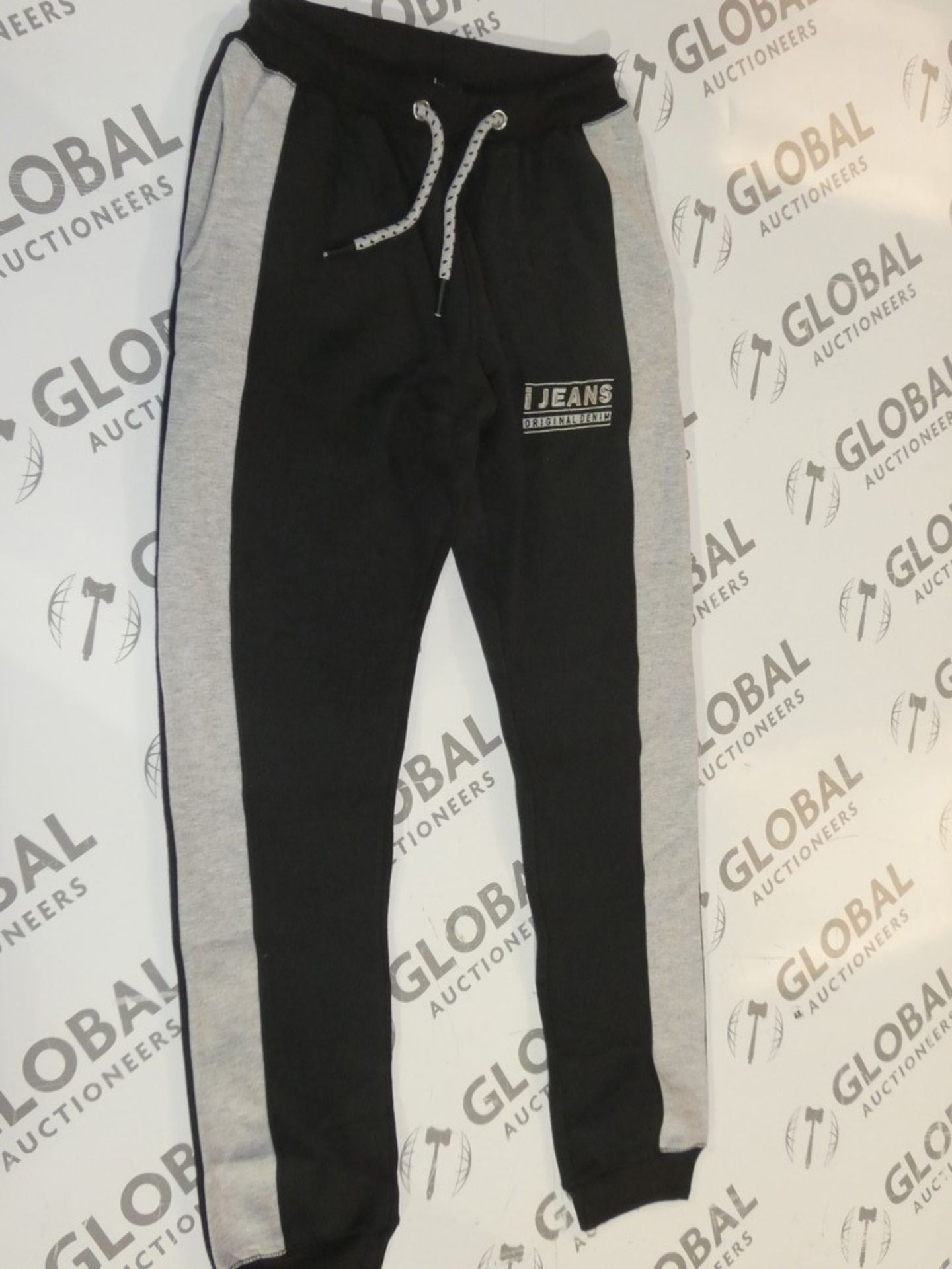 Lot 171 - Assorted Brand New Pairs Of Ijeans Original Denim Black Lounging Pants In Assorted Sizes RRP £25 A