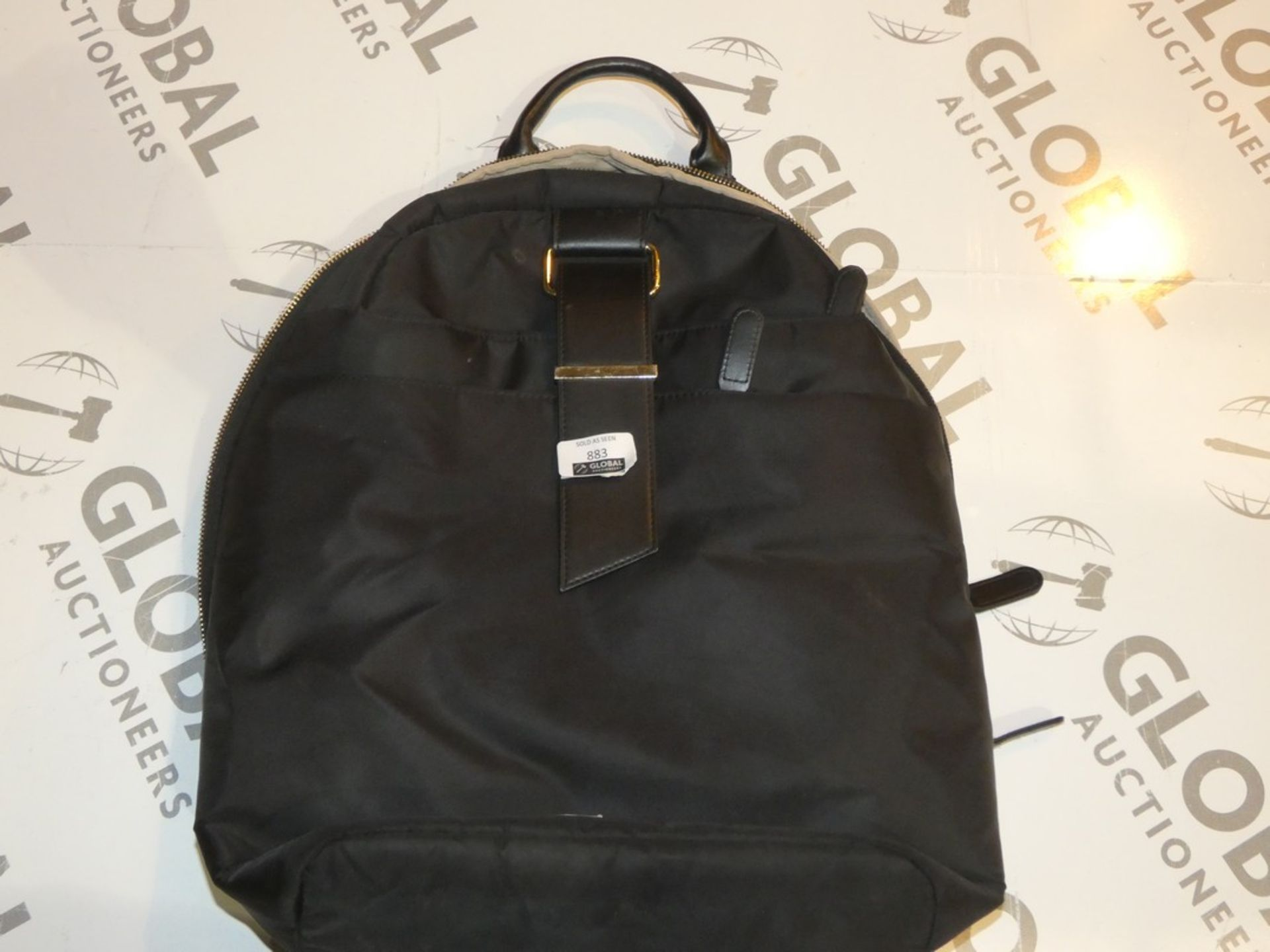 Lot 883 - Boxed Wenga Backpack Style Laptop Bags