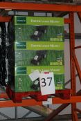 Pallet to Contain 9 Gardenline Electric Lawn Mowers Combined RRP £450