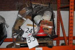 Pallet to Contain a Large Assortment of Items to Include Leon Terracotta Tangine, Chair,