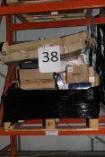 Pallet to Contain an Assortment of Wayfair Items to Include Door Handles, Lights, Rug Underlays