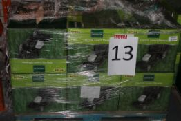 Pallet to Contain 6 Gardenline Electric Lawn Mowers Combined RRP £300