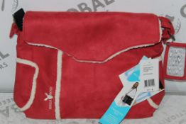 Brand New Wallaboo Warm Red Children's Changing Bag RRP £30.00
