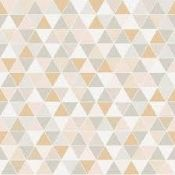 Brand New Sealed Rolls Engbald & Co Graphic World Triangular Geometric Wallpaper £55 Per Roll (