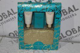 Brand New Grace & Cole Collection Sea Salt, Lemon Grass & Amber 4 Piece Gift Set Includes