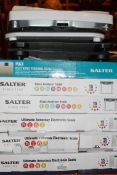 Lot to Contain 10 Assorted Boxed and Unboxed Pairs of Salter Max Glass Analyser Ultimate Accuracy