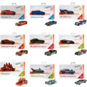 Lot to Contain 20 Assorted Cars, Assorted Models Combined RRP £140 (Image For Illustration