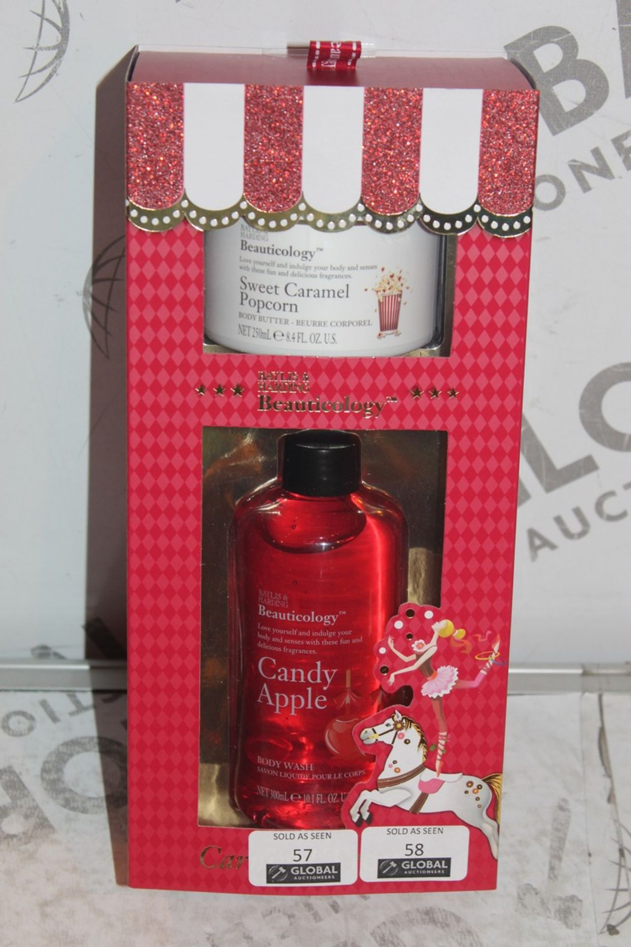 Lot 58 - Lot to Contain 2 Brand New Bayliss and Harding Seasonal Gift Sets to Include 250ml Sweet Caramel