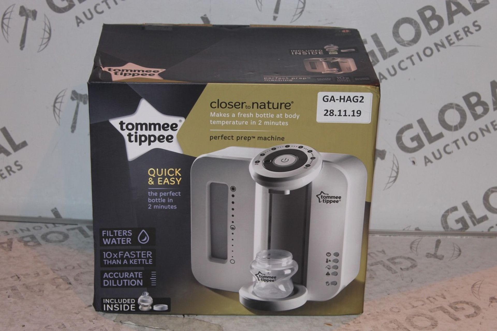 Lot 18 - Boxed Tommee Tippee Perfect Prep Machine in White RRP £85 (Public Viewing and Appraisals Available)