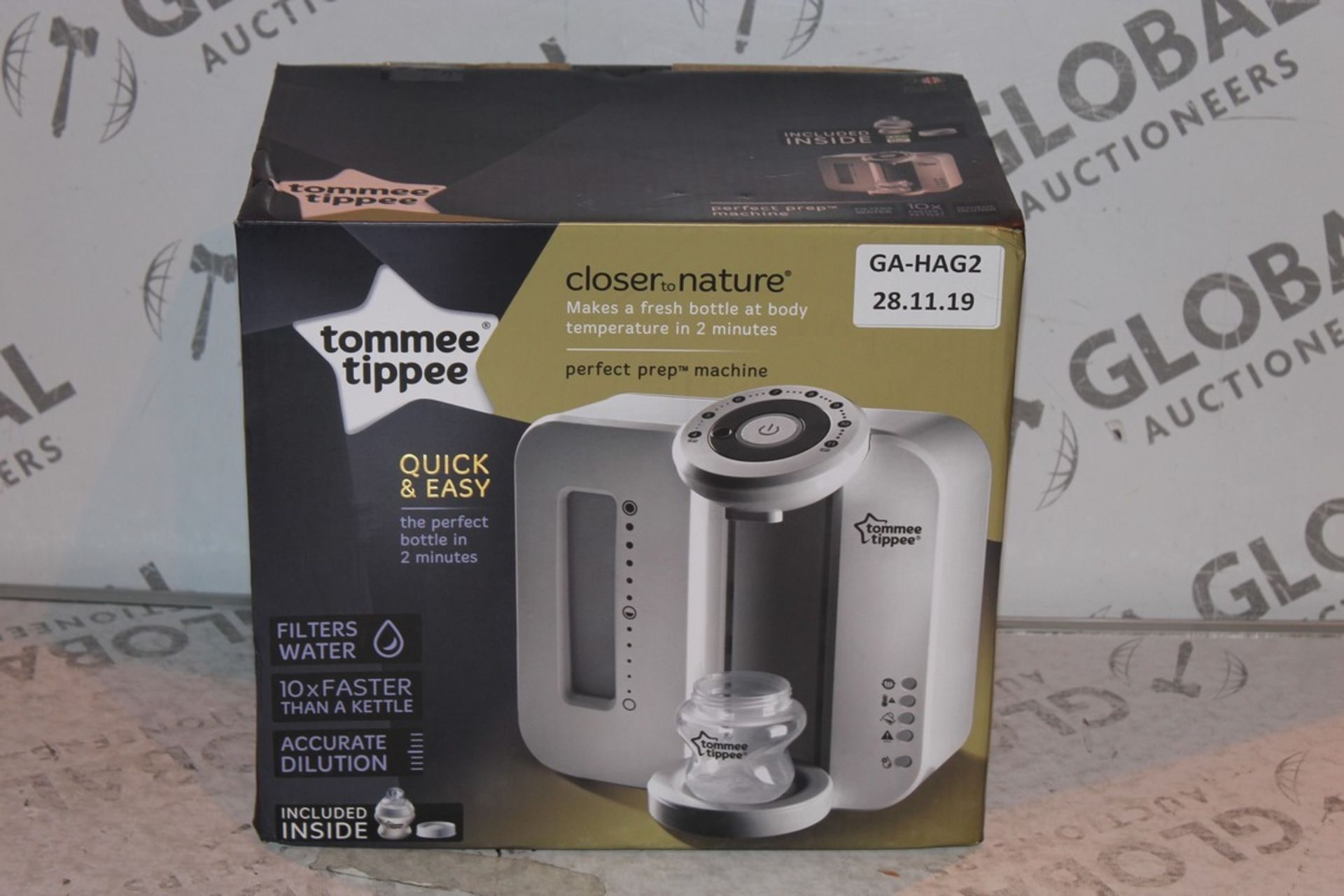 Lot 24 - Boxed Tommee Tippee Perfect Prep Machine in White RRP £85 (Public Viewing and Appraisals Available)