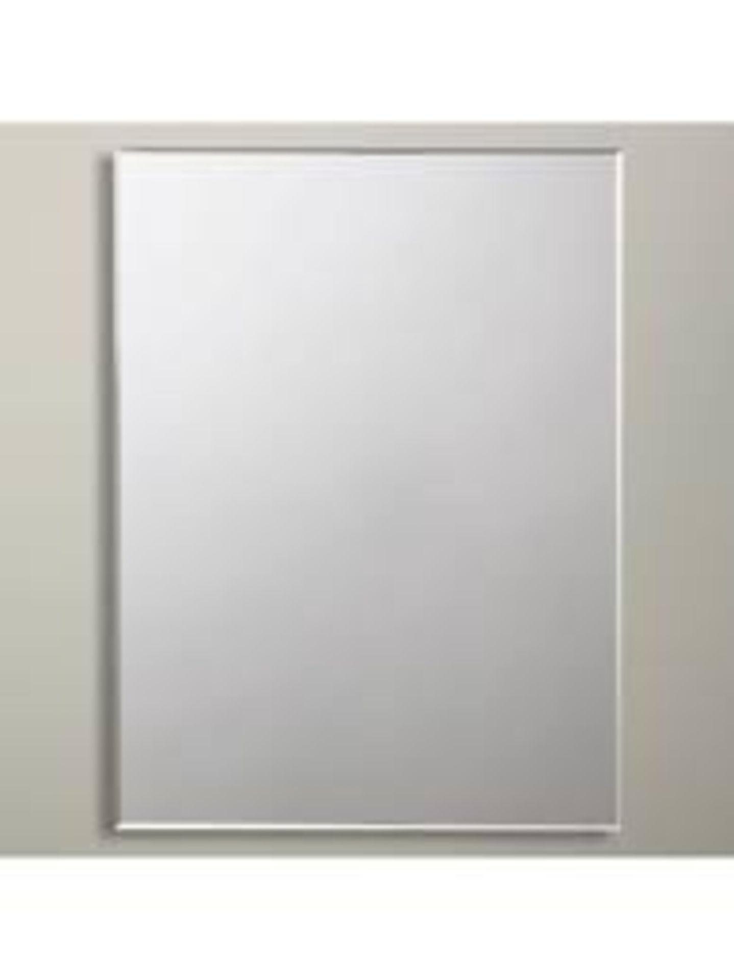 Lot 42 - Boxed John Lewis Bevelled Medium Rectangular Mirror RRP £60 (3301096) (Public Viewing and Appraisals