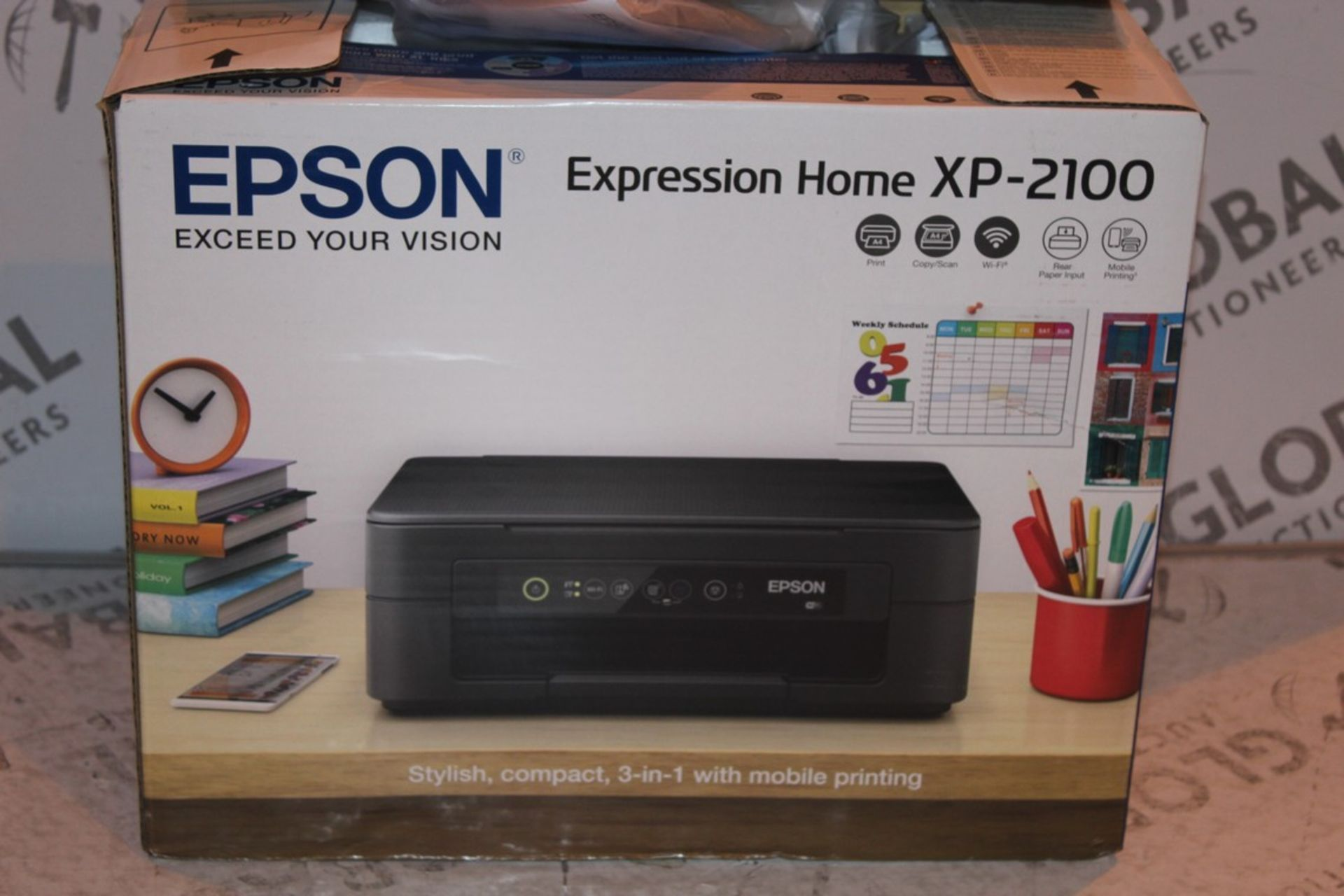 Lot 1 - Boxed Epson Expression Home XP2100 Printer RRP £55 (Public Viewing and Appraisals Available)