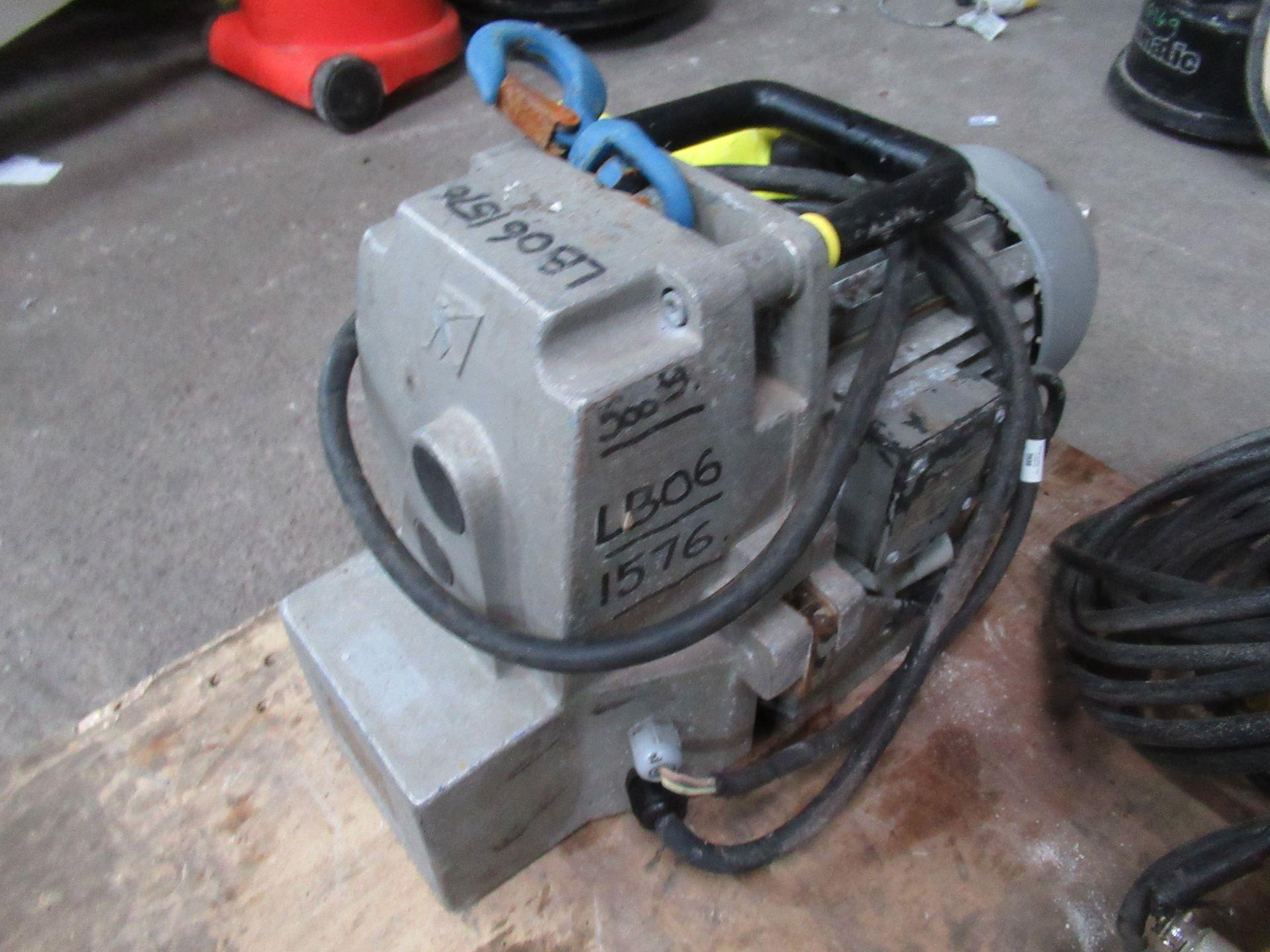 Lot 1268 - Tractel Minifor TR50 Electric Hoist Motor 500kg