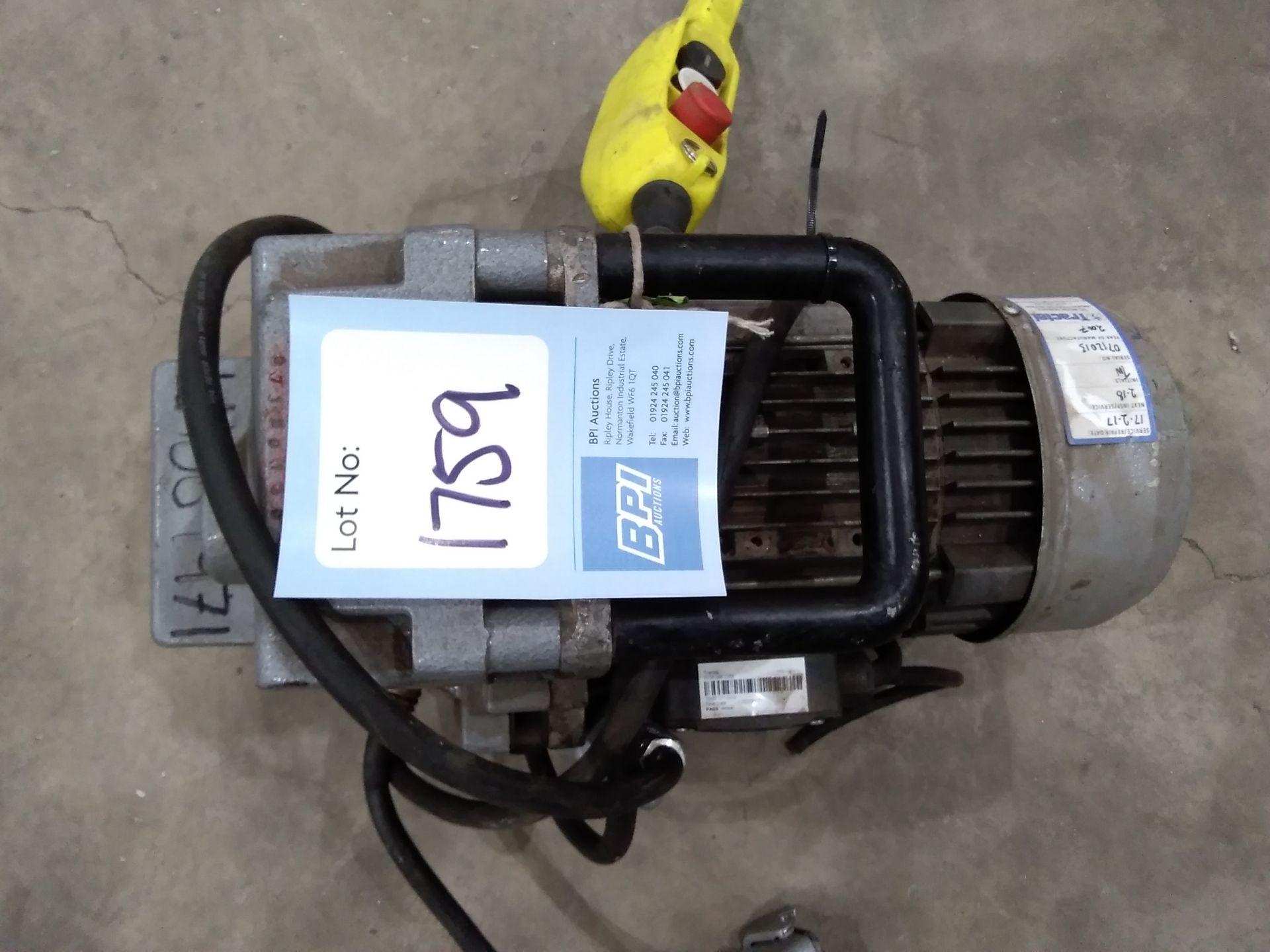Lot 1759 - 500kg Electronic Hoist Motor . Lb069971