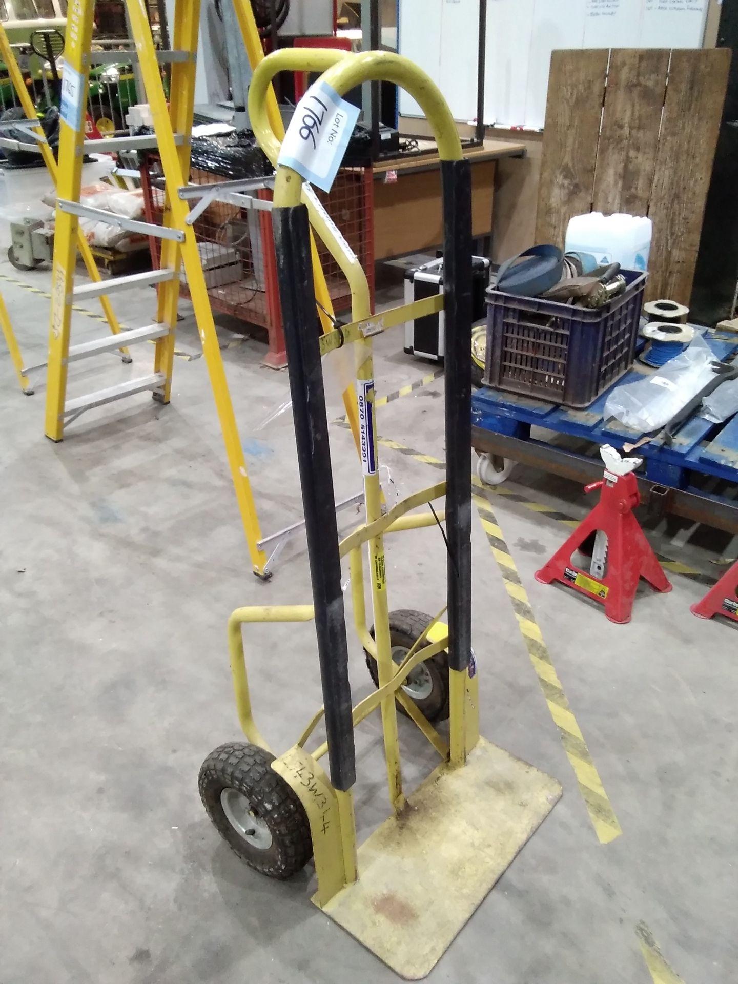 Lot 1766 - Sack Trolley Flat Tyres . L543w344