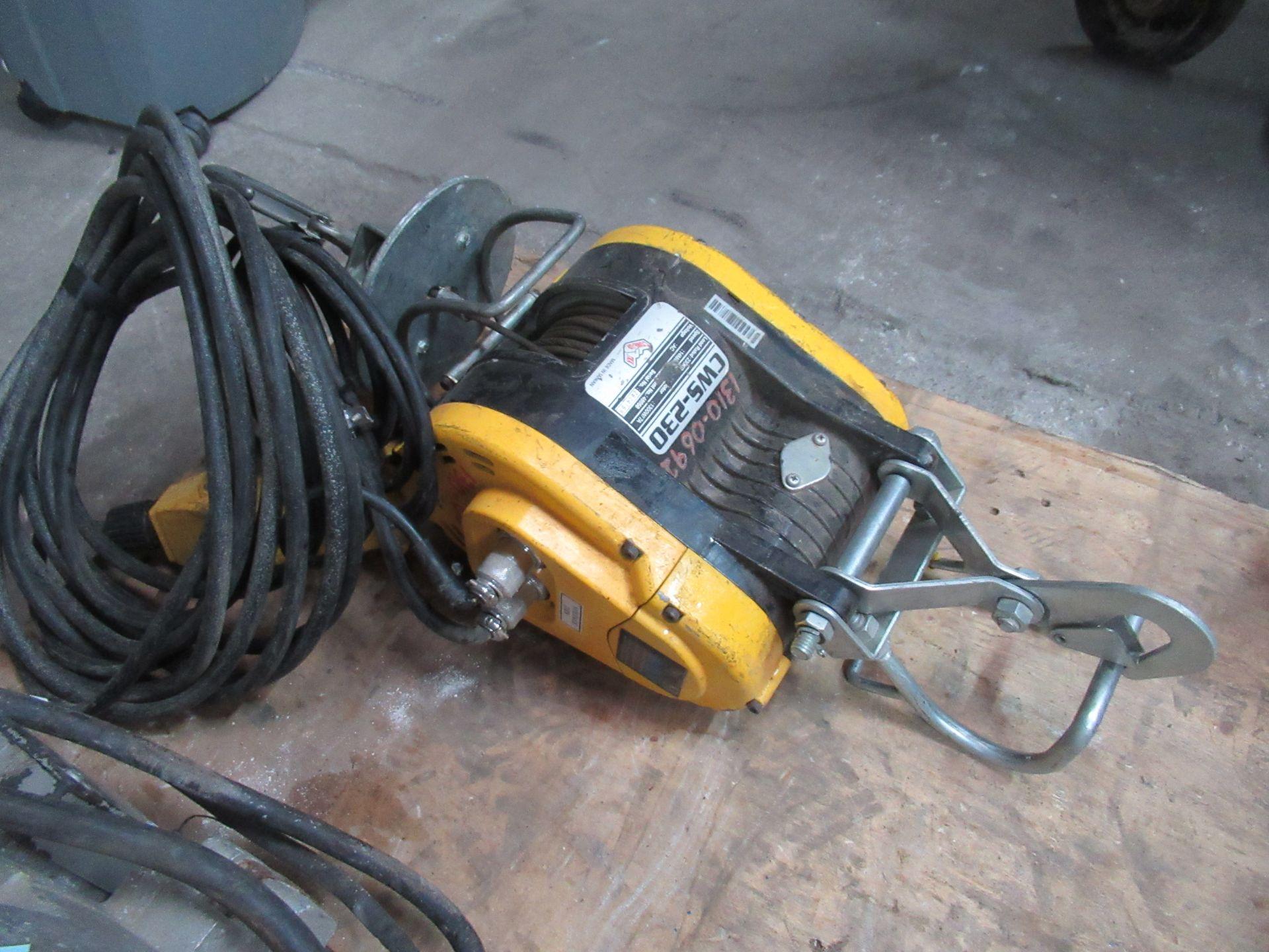 Lot 1269 - TTK CWS-230 Electric Hoist 230kg
