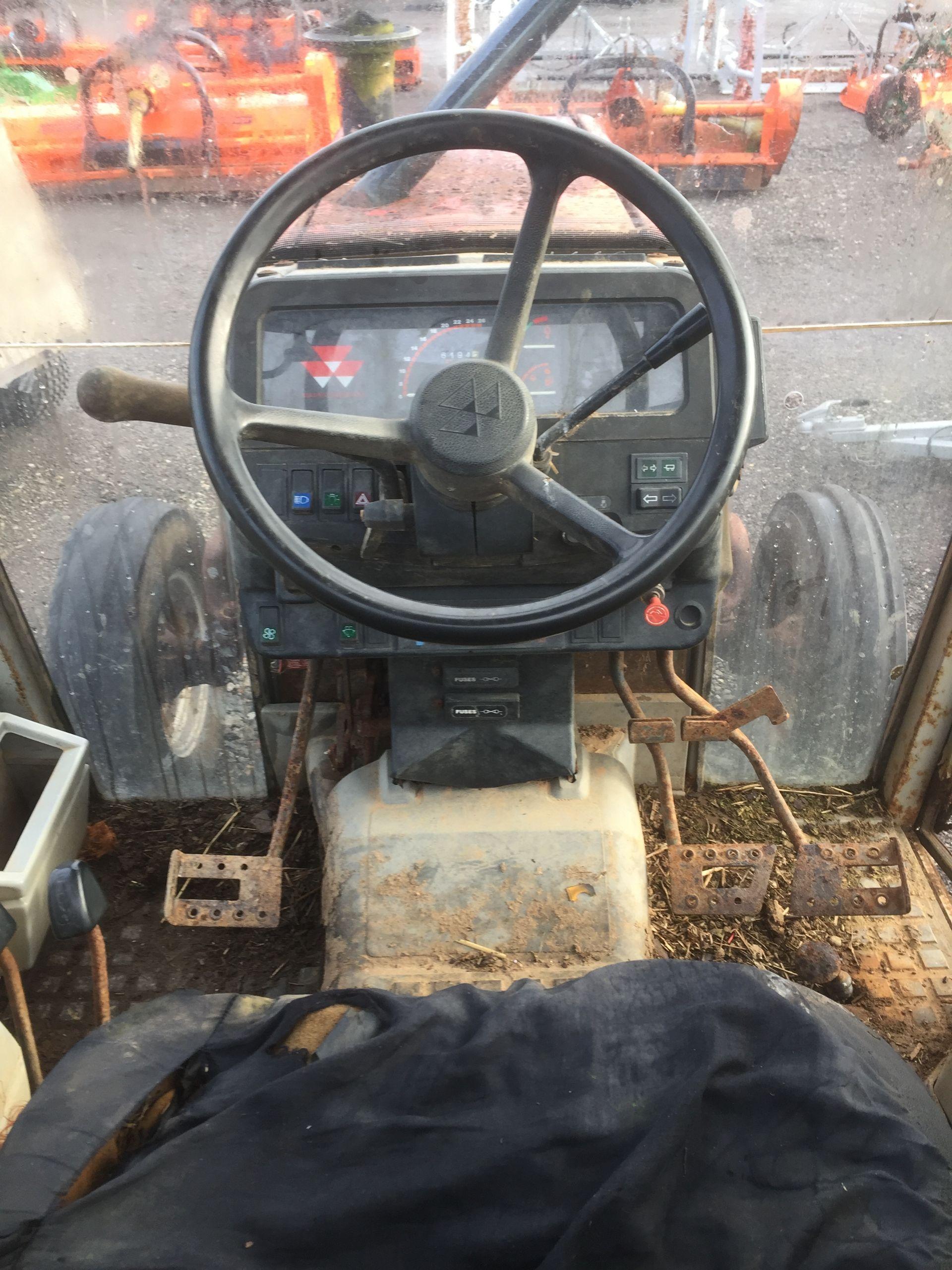 Lot 8 - Massey Ferguson 390 2wd 12x12 tractor, Registration No. K653 SDE, Hours: N/A
