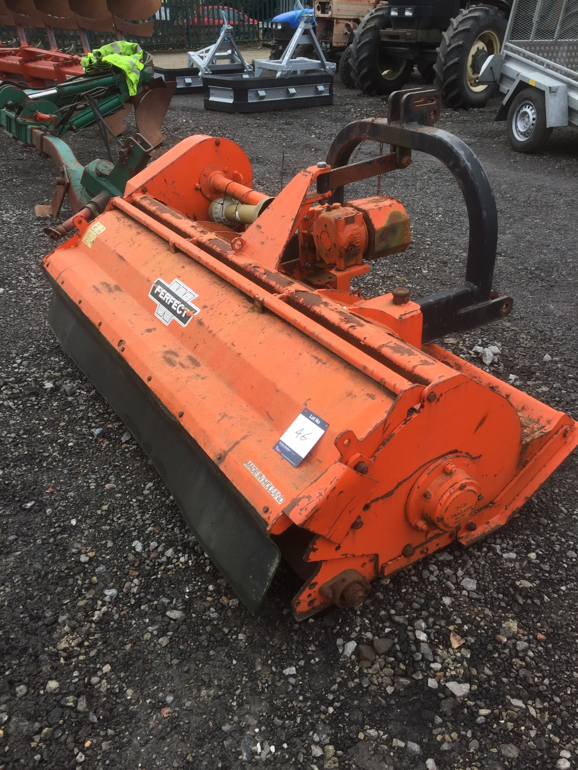"""Lot 46 - Perfect KC200 6'6"""" flail mower, Serial No. 6497-PD (2005)"""