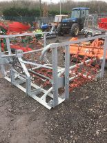 Lot 47 - Jarmet 4MHYD chain harrow with shackle connection, reversible mat and hydraulic folding (unused) (
