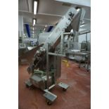 Multi-Fill, Model: MPFSC-120-01, crumb deposit conveyor, Serial No. 637 (2012) with hopper infeed