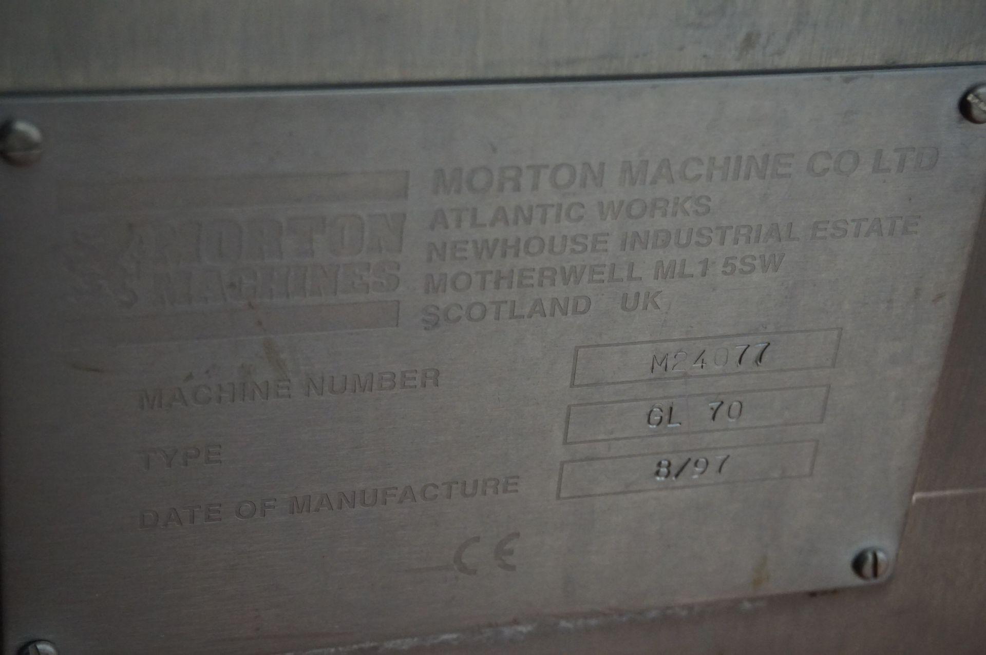 Lot 126 - Morton, Type: GL70, gridlap mixer, Serial No. M24077 (1997)