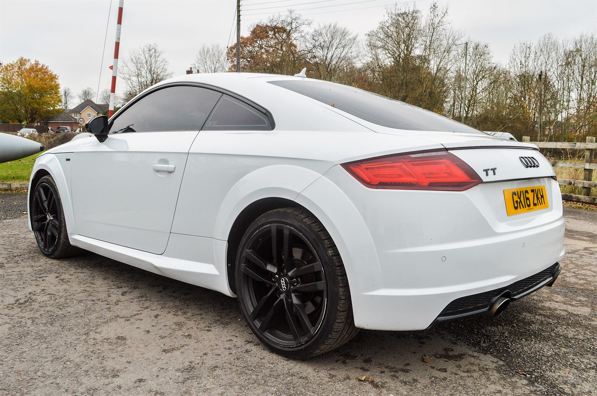Lot 18A - Audi TT TFSi Quattro S-Line 2 litre petrol automatic coupe car Registration Number: GK16 ZKH Date of