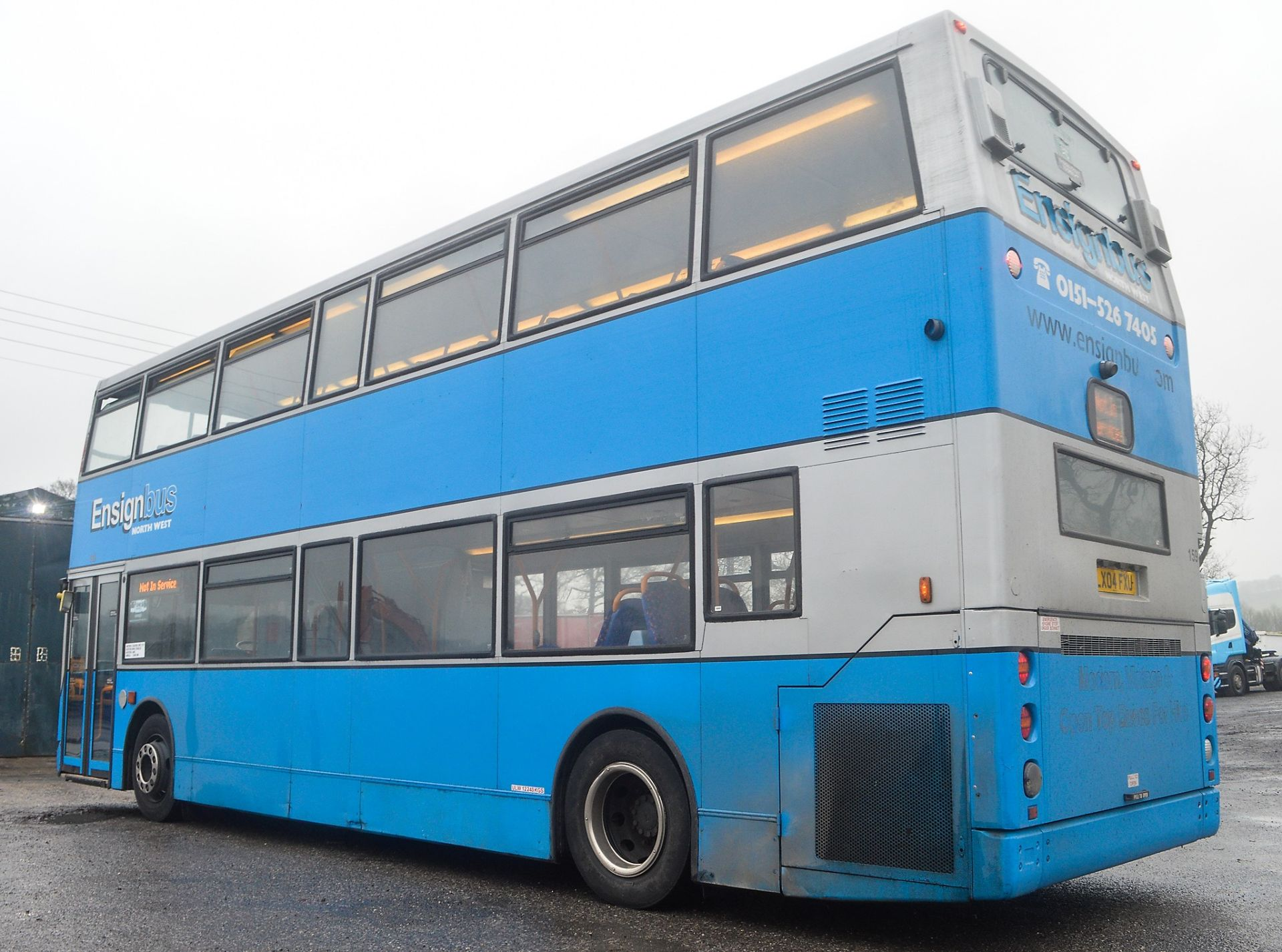 Lot 6 - Alexander Dennis Trident TransBus 80 seat double deck service bus Registration Number: LX04 FXU Date