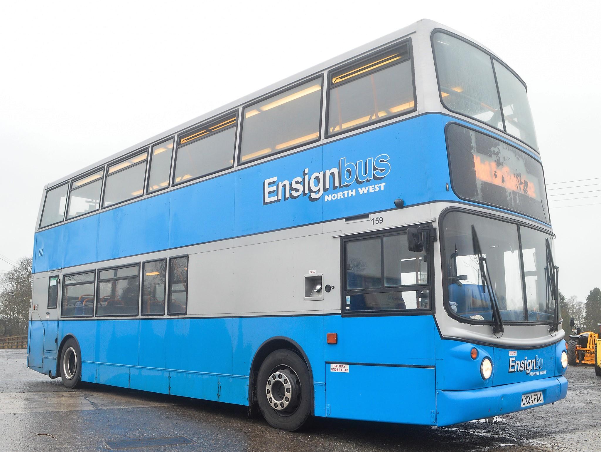 Lot 6 - Alexander Dennis Trident TransBus 80 seat double deck service bus Registration Number: LX04 FXU Date