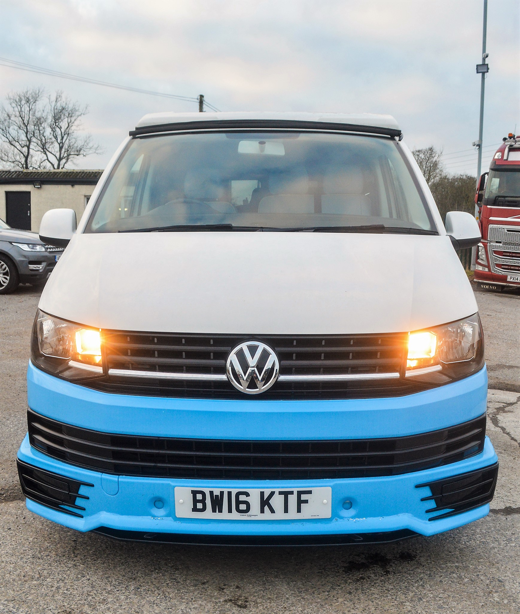 Lot 18 - Volkswagen Transporter T28 S-Line TDi camper van Registration Number: BW16 KTF Date of Registration: