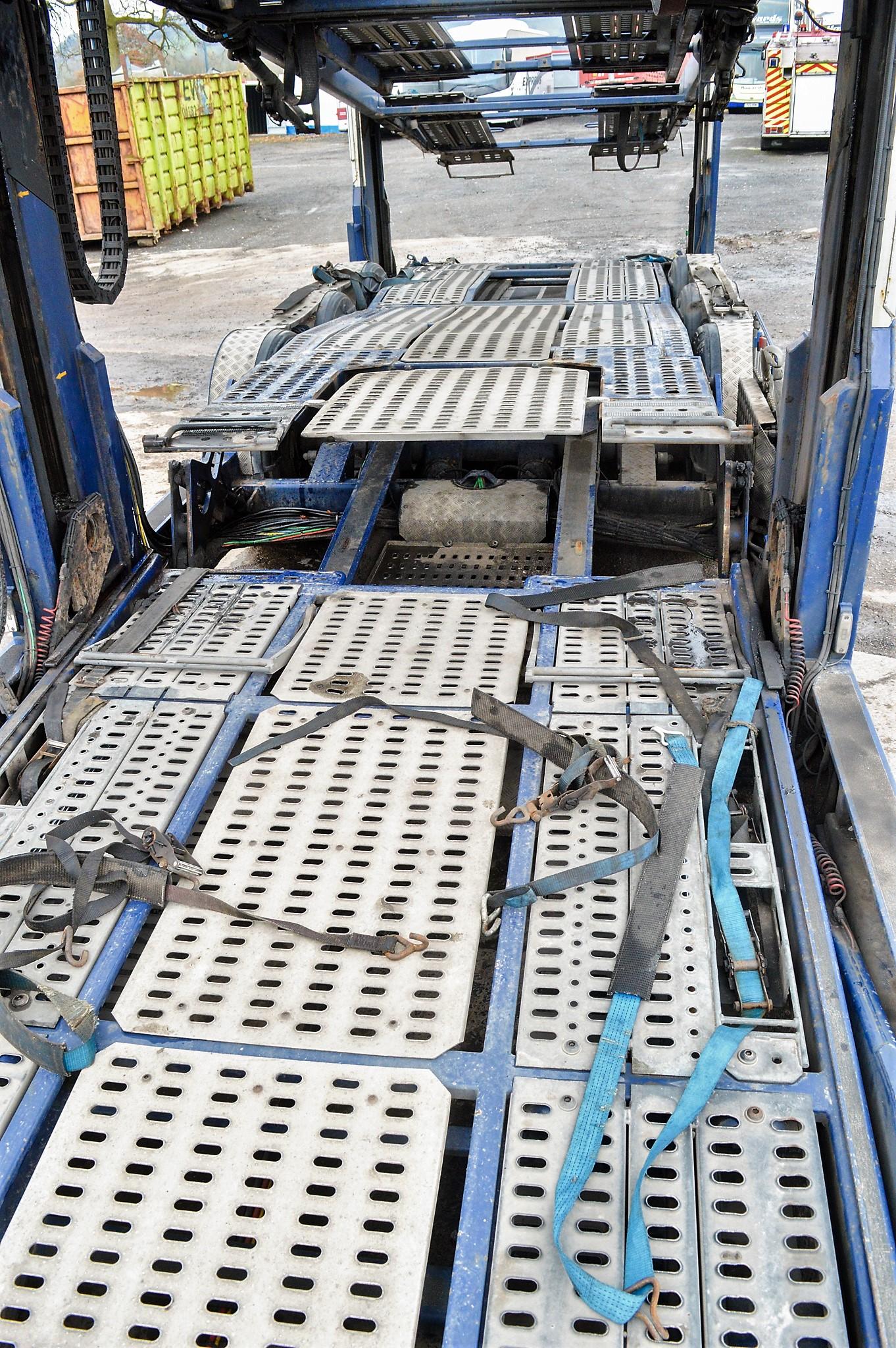 Lot 20 - Volvo FM 6 x 2 21 tonne car transporter lorry Registration Number: KX57 POH Date of Registration: