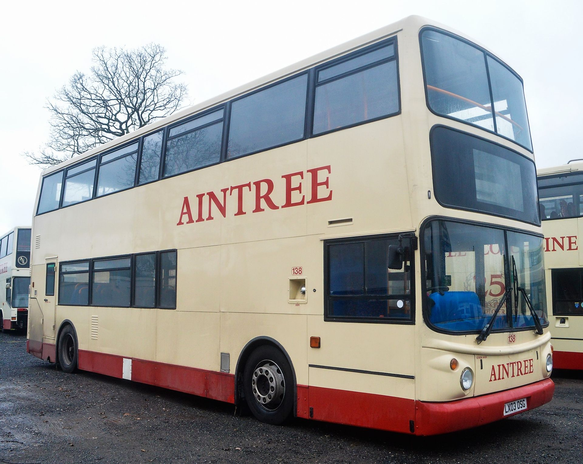Lot 8 - Alexander Dennis Trident 78 seat double deck service bus Registration Number: LX03 OSG Date of