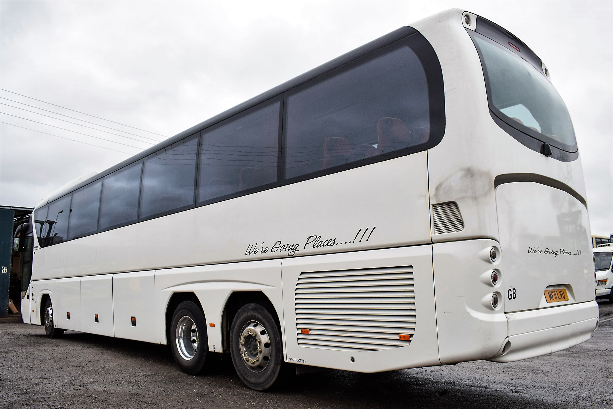 Lot 16A - Neoplan Tourliner 61 seat luxury coach Registration Number: MF11 LVU Date of Registration: 01/04/