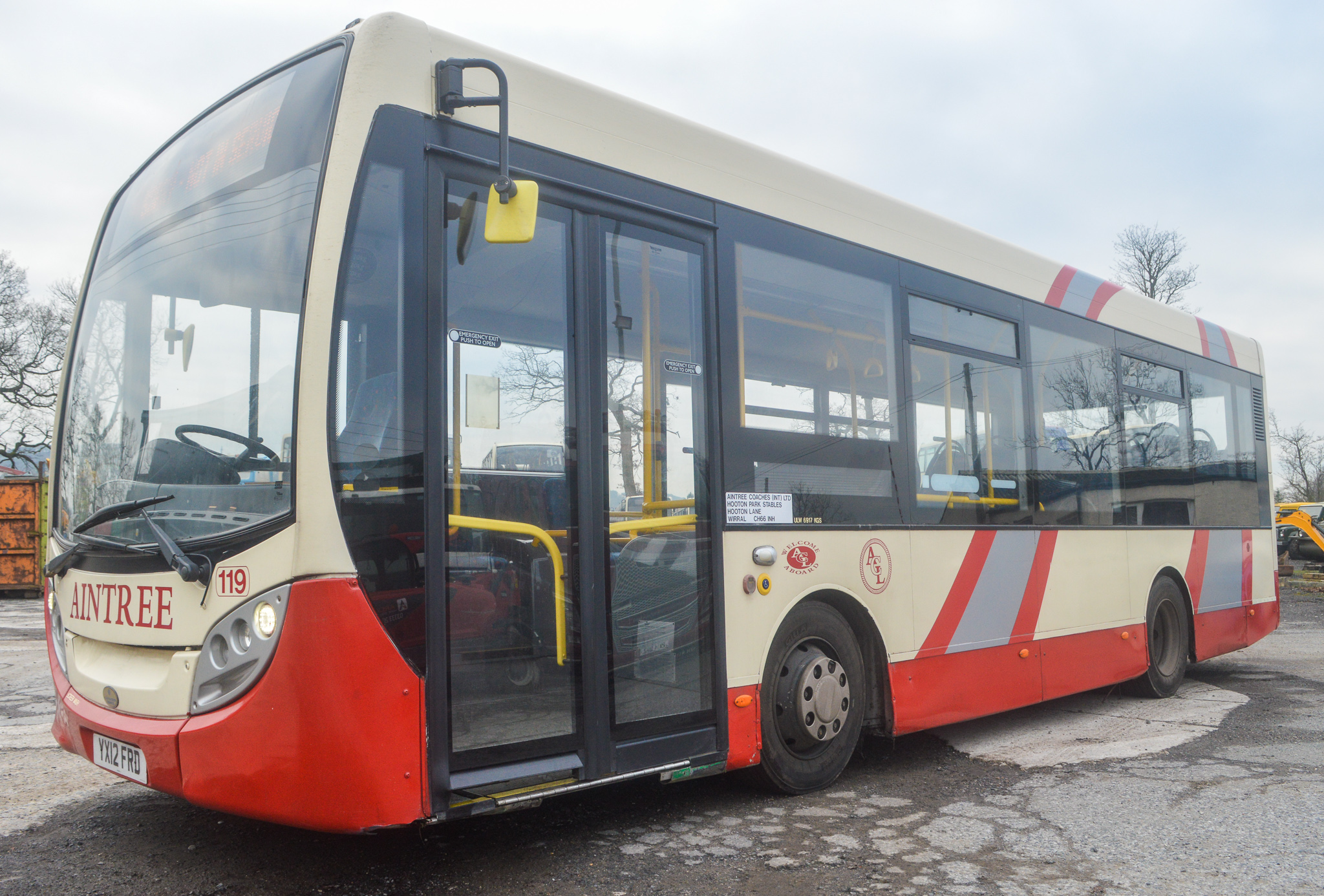 Lot 2 - Alexander Dennis Dart 4 Enviro 2000 29 seat single deck service bus Registration Number: YX12 FRD