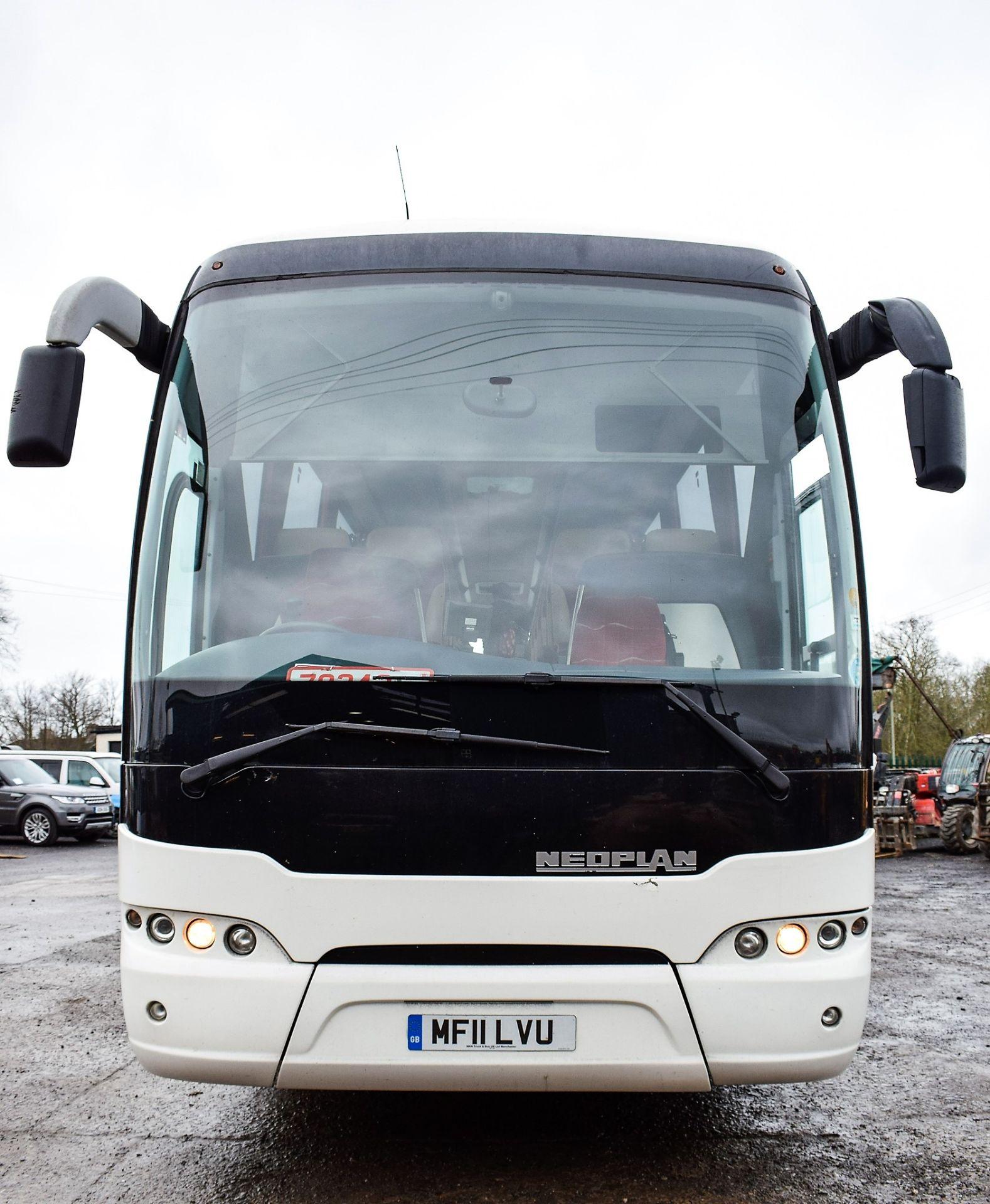 Lot 16A - Neoplan Tourliner 61 seat luxury coach Registration Number: MF11 LVU Date of Registration: 01/04/