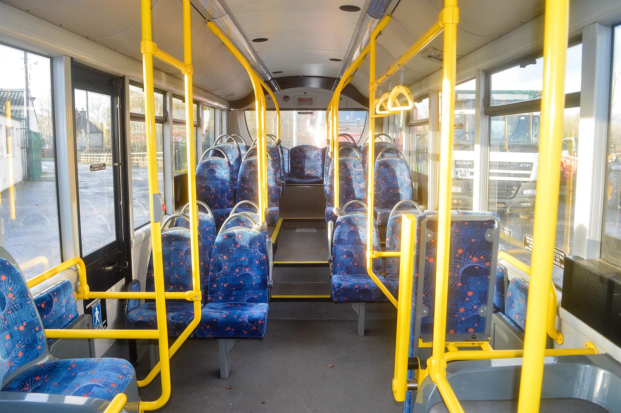 Lot 1 - Alexander Dennis Dart 4 Enviro 2000 29 seat single deck service bus Registration Number: YX12 GGV