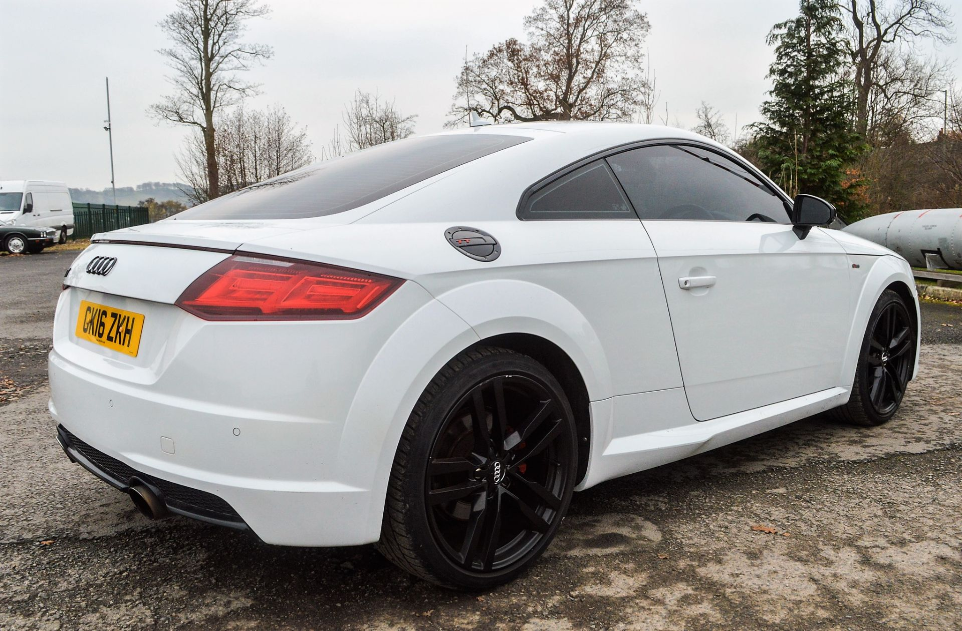 Lot 18A - Audi TT TFSi Quattro S-Line 2 litre petrol automatic coupe car Registration Number: GK16 ZKH Date of