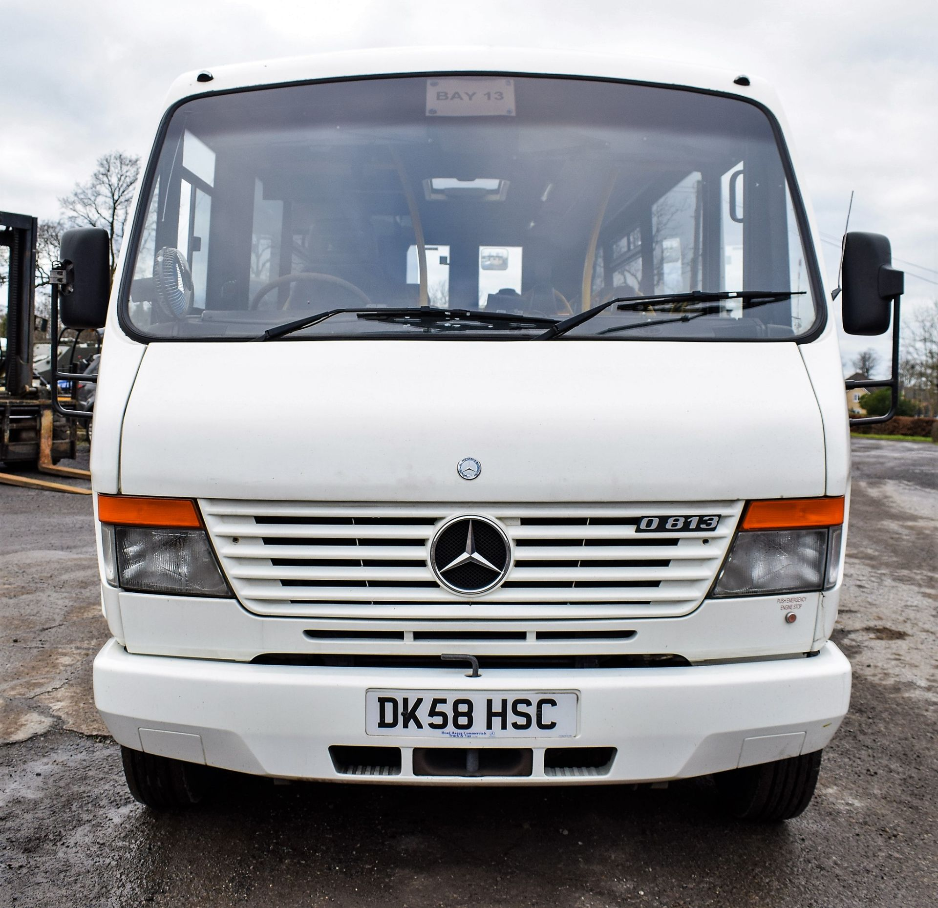 Lot 17C - Mercedes Benz O 813 24 seat mini bus Registration Number: DK58 HSC Date of Registration: 13/10/