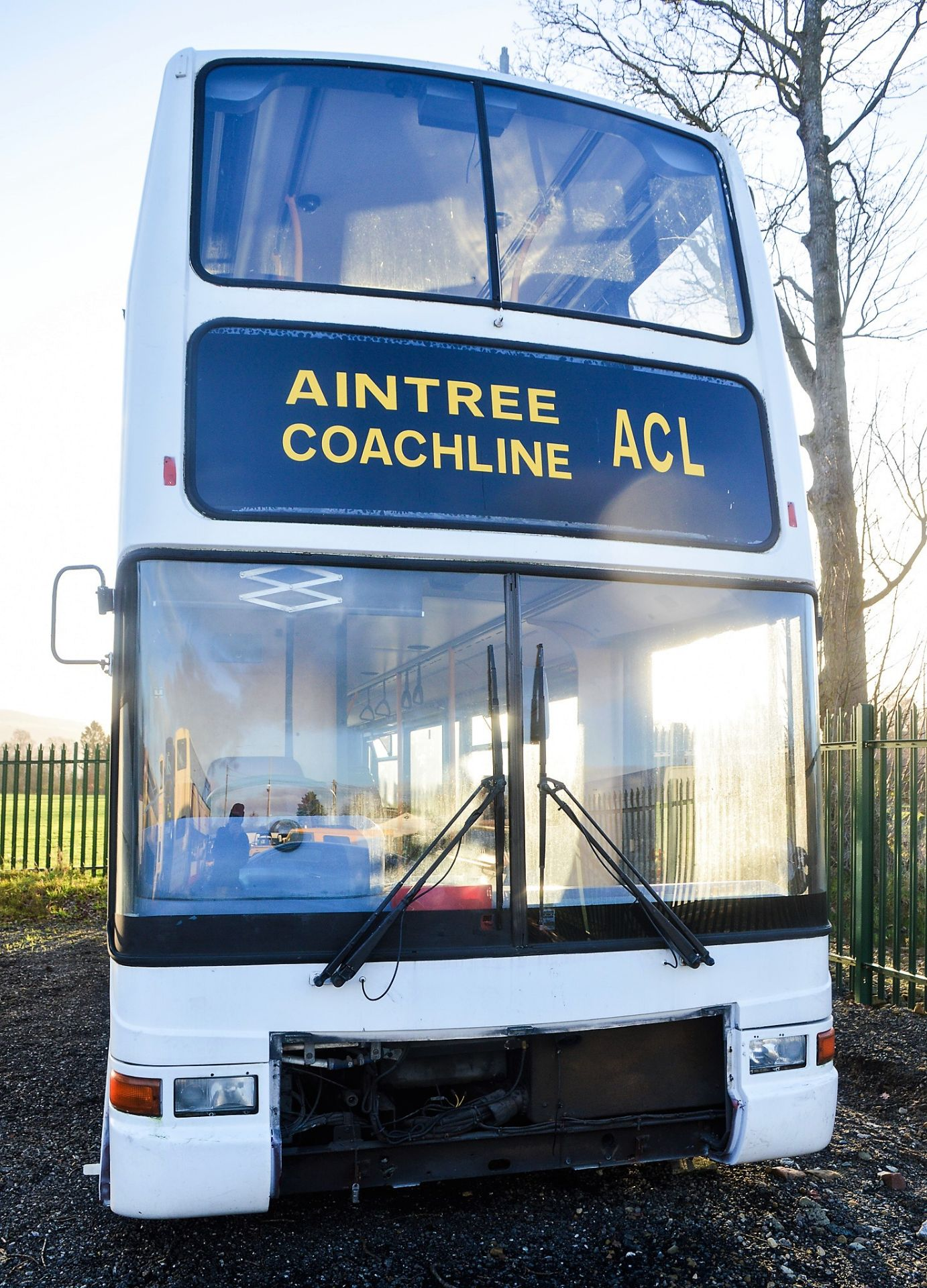 Lot 16 - Alexander Dennis double deck service bus for spares Registration Number: V539 ESC Date of