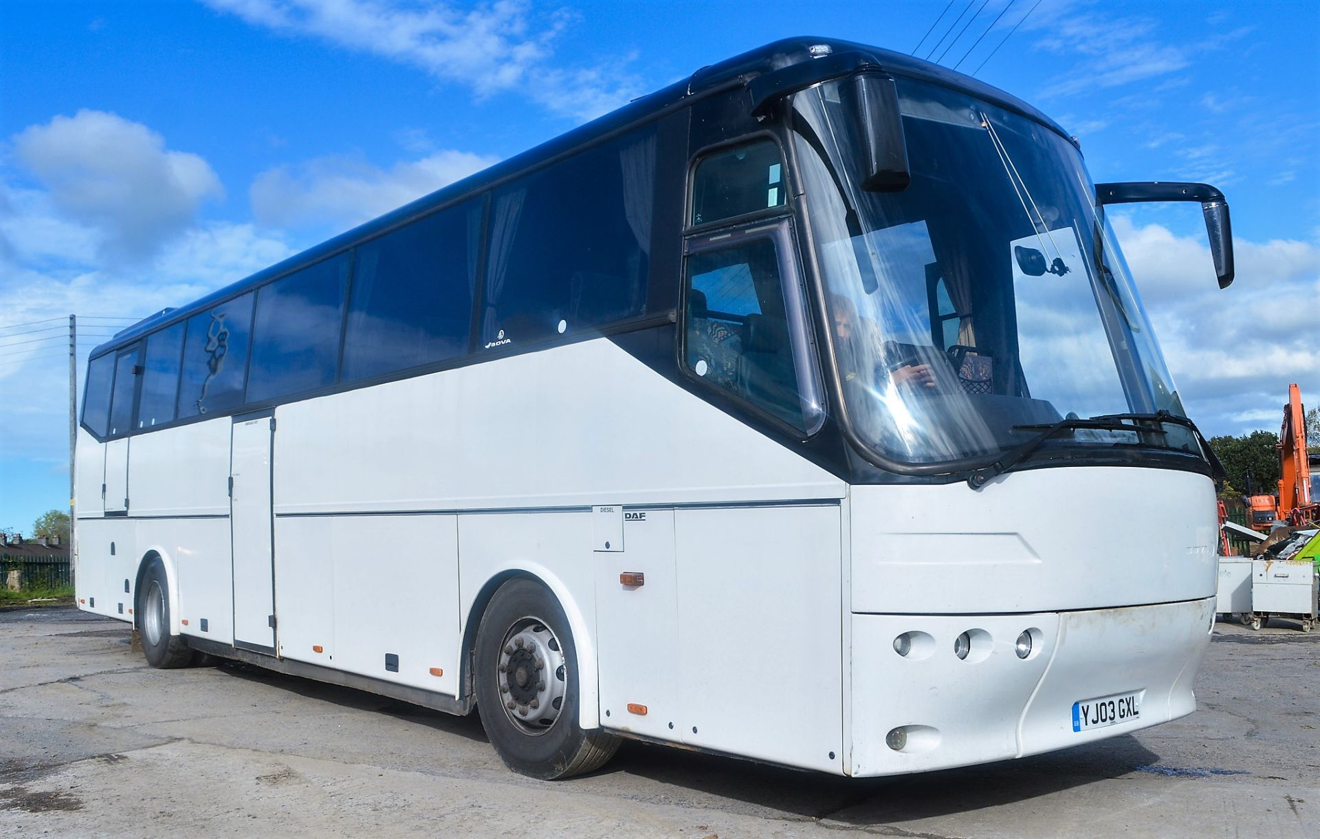 Lot 17 - DAF Bova Futura 49 seat luxury coach Registration Number: YJ03 GXL Chassis Number: XL9AA18P230003675
