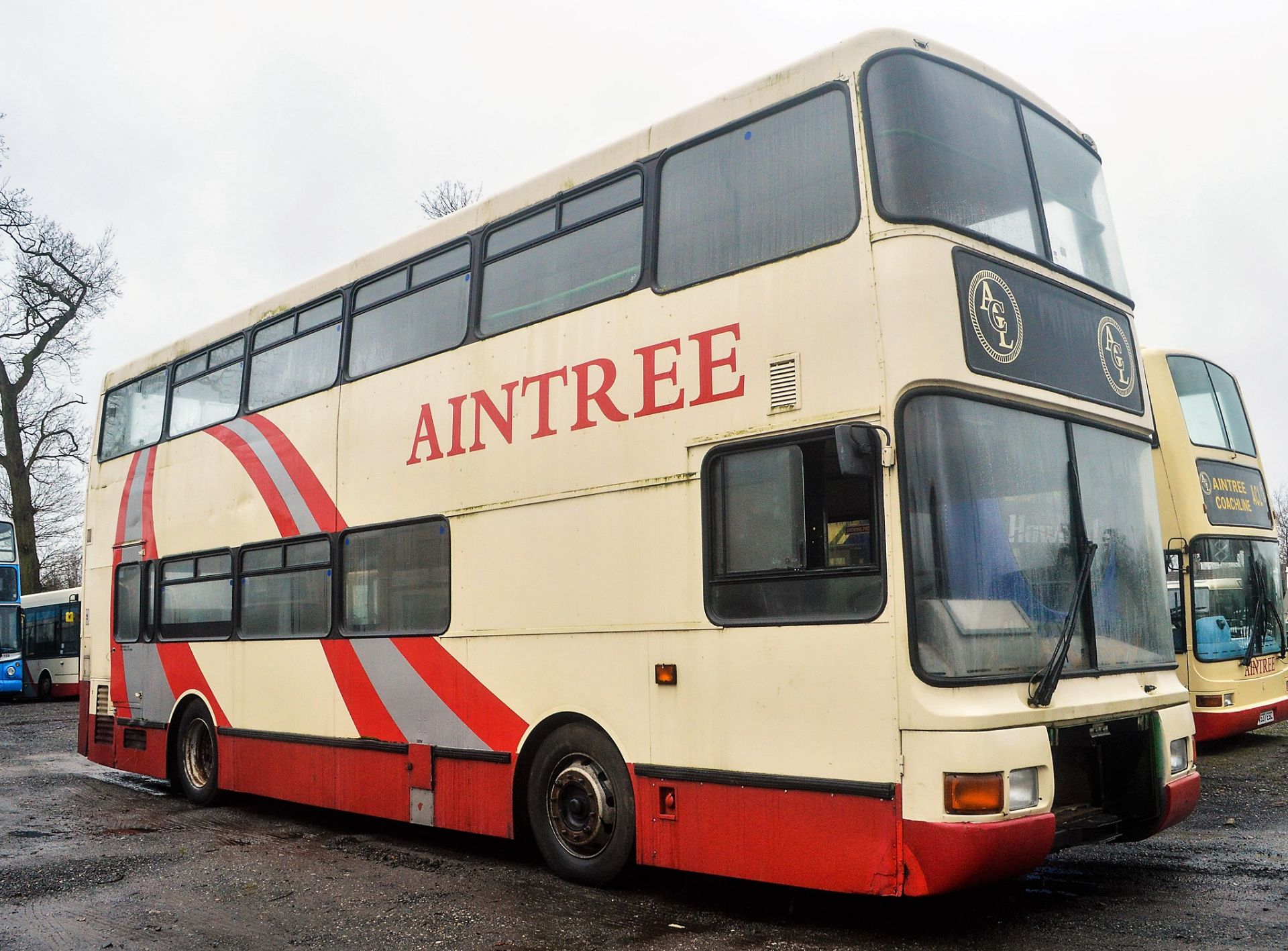 Lot 15 - Alexander Dennis double deck service bus for spares Registration Number: P5 ACL (Plate not sold with