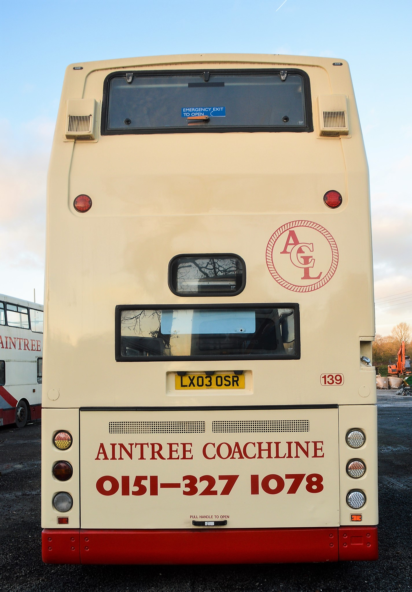 Lot 13 - Alexander Dennis Trident 78 seat double deck service bus Registration Number: LX03 OSR Date of