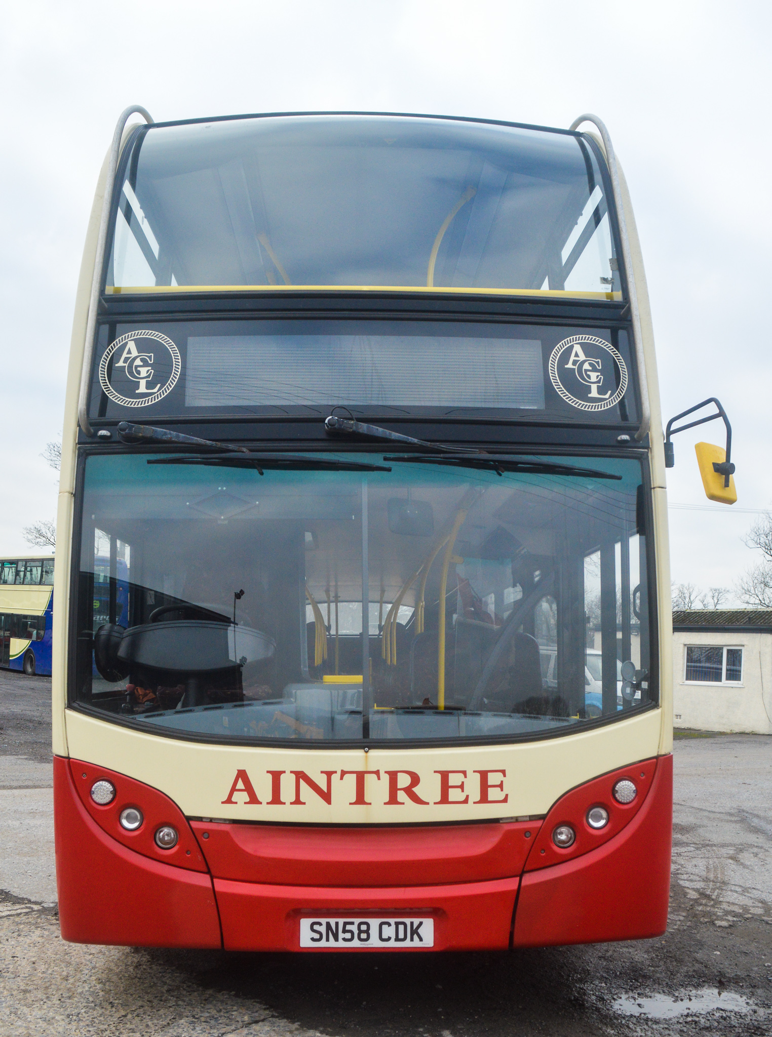 Lot 5 - Alexander Dennis Trident 2 Enviro 400 81 seat double deck service bus Registration Number: SN58