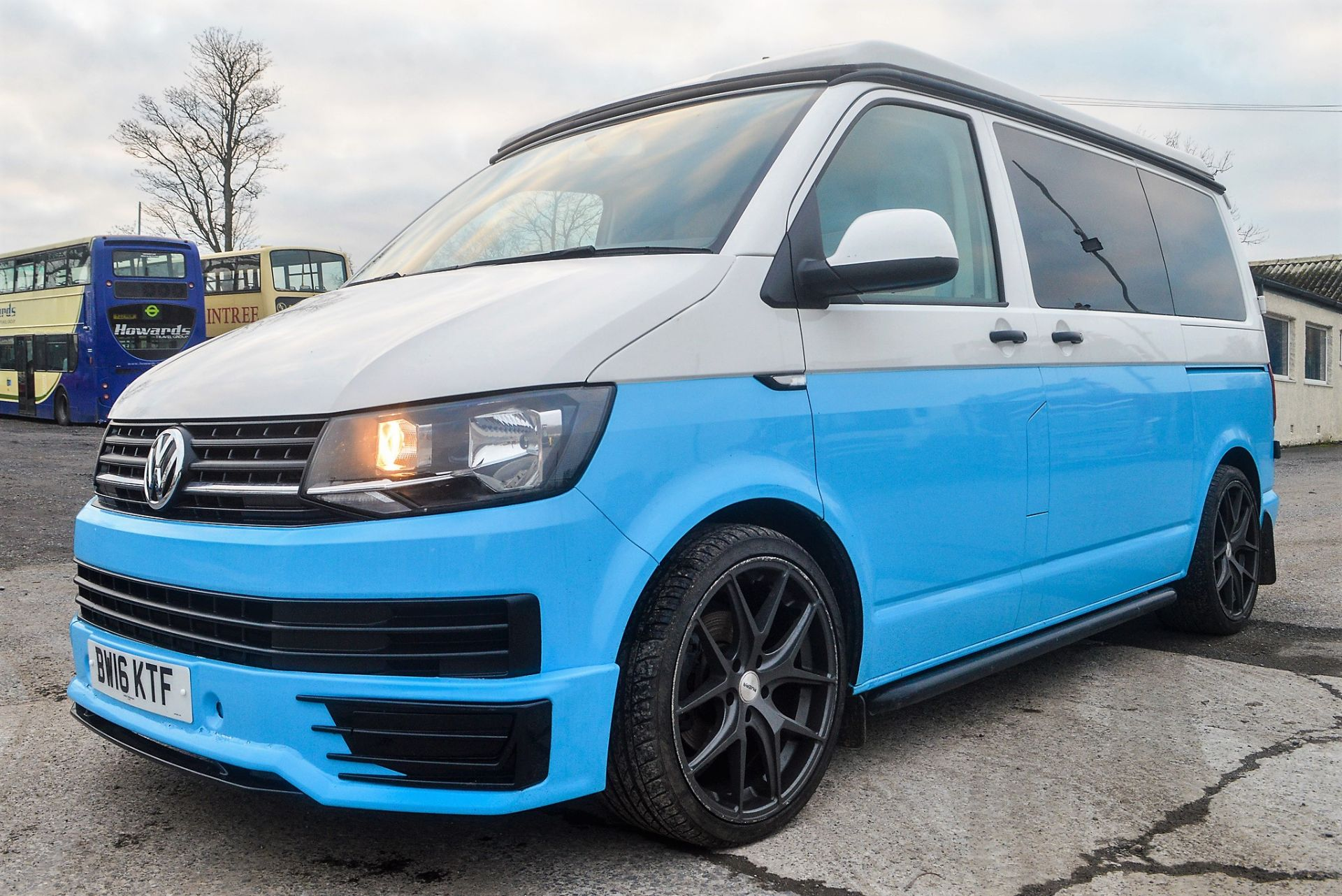 Lot 18 - Volkswagen Transporter T28 S-Line TDi camper van Registration Number: BW16 KTF Date of Registration: