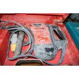 Lot 493 - Hilti TE60 ATC 110v SDS rotary hammer drill c/w carry case A665017