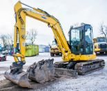 Lot 26B - Komatsu PC55MR 5.5 tonne rubber pad excavator Year: 2018 S/N: F60803 Recorded Hours: 226 piped,