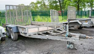 Indespension 10 ft x 6 ft tandem axle plant trailer A619651