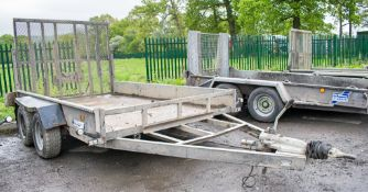 Indespension 10 ft x 6 ft tandem axle plant trailer A619652