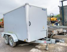 Indespension 8 ft x 4 ft tandem axle box trailer A731510